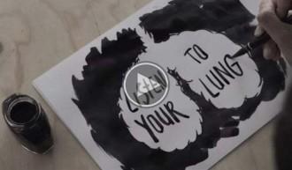 Una campanya crea tinta negra a partir de pulmons de fumadors