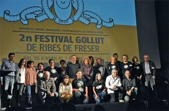 El Festival Gollut homenatja Àlex Gorina i reconeix el cinema amb més compromís social