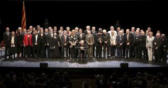 Artur Mas lliura la Creu de Sant Jordi a quatre vallesans singulars