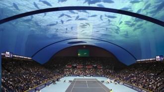 Com seria veure un partit de tennis sota l'aigua? El luxós projecte a Dubai