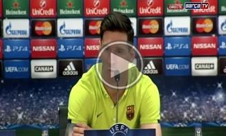 Messi: «Guardiola ens coneix bé, però nosaltres també el coneixem a ell»