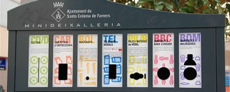 Vés a: Bons resultats de la campanya de residus a Santa Coloma de Farners