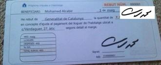 El suposat rebut d'ajuda de PxC està signat per... l'expresident d'Egipte