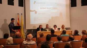 El primer debat electoral de Pallars Digital a Tremp omple l'Epicentre