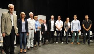 Intens debat entre els nou candidats al Tàg del Vendrell