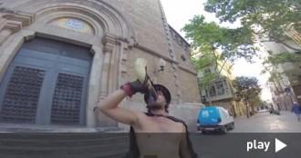 El vídeo dels Ganàpies per la seva diada, que se celebra avui