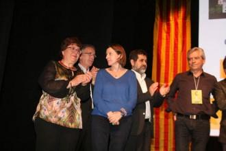 Forcadell, Sànchez i Reyes demanen vots sobiranistes el 24M