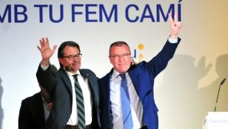 Artur Mas s'arromanga per Carles Pellicer a la recta final de la campanya