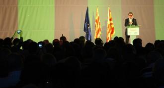 Artur Mas eclipsa Albert Abelló en l'acte final de campanya a Tarragona