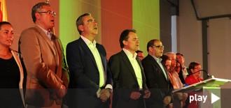 Artur Mas eclipsa Albert Abelló en l'acte final de campanya