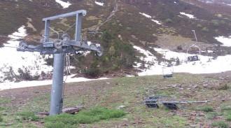 ERC Pallars Sobirà denuncia l'abandonament de l'estació de Tavascan