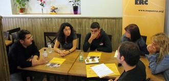 Mendoza (ERC): «Serem els més rics quan tinguem l'índex d'atur més baix»