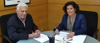 L'Ajuntament renova el contracte de col·laboració amb el Banc d'Aliments