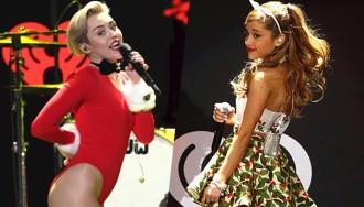 Encara no has vist el duet entre Miley Cyrus i Ariana Grande?