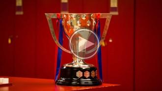 El trofeu de la Lliga ja és al Camp Nou