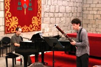 Migdia musical a la capella dels Sants Màrtirs