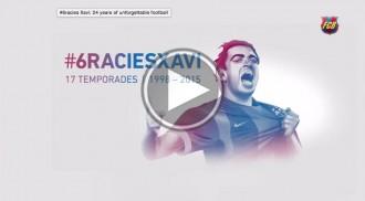 Vés a: El vídeo que el Barça ha dedicat a Xavi Hernández