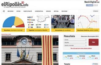 Ampli desplegament d'ElRipollès.info i Nació Digital A les municipals