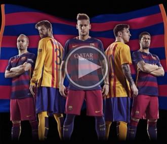 Vés a: El Barça i Nike presenten les equipacions de la propera temporada