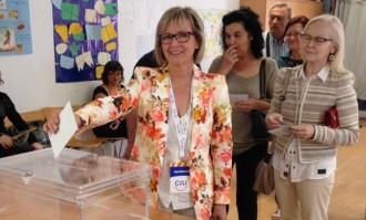 Els alcaldables del Vendrell emeten el seu vot al llarg del matí