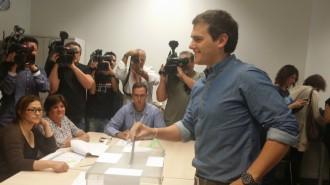 Albert Rivera ja no vota al Vallès Oriental