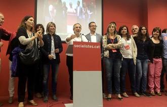 Mayoral arrasa a Granollers amb la tercera majoria absoluta del PSC