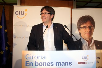 Carles Puigdemont revalida l'alcaldia de Girona