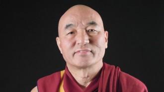 El lama Thubten Wangchen, al proper «Pessic de Vida»