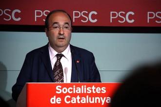 Miquel Iceta: «Si Colau vol ballar, ballarem»