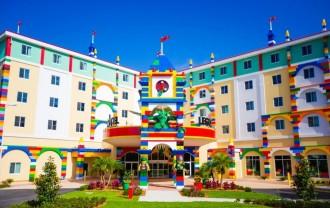 Us mola el Lego? Mireu com ha quedat l'hotel que acaben de construir a Florida!