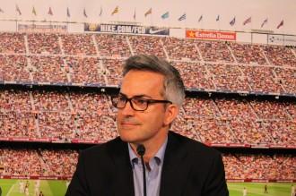 El granollerí Víctor Font presenta el seu projecte per al Barça del futur