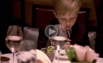 Què passa quan un grup de nens sopa en un dels restaurants més cars de Nova York?