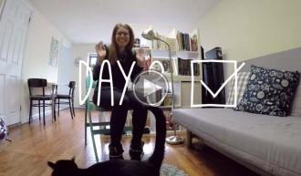 100 dies sense pors, el projecte d'una dona per viure la vida al màxim