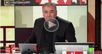 Vés a: El presentador d'«Al Rojo Vivo» titlla el president de TVE de «mamporrero del PP»