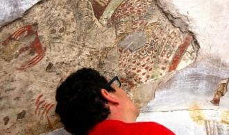 Descobreixen al Pallars Jussà unes pintures que podrien ser romàniques