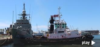 El patruller de l'armada espanyola Infanta Elena ja és al Port de Tarragona