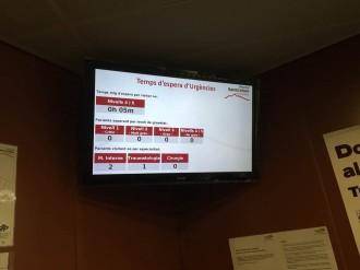 L'Hospital de Sant Celoni  informa del temps d'espera per a les visites a urgències