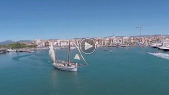 Vés a: El Port de Cambrils a vista de «drone»