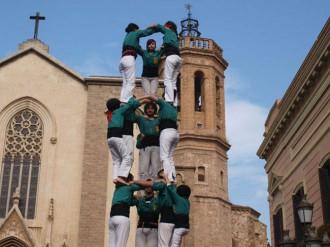 La salut castellera, protagonista als Saballuts