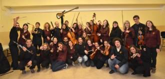 Concert de l'orquestra TLP i la Coral Espluguina a l'Església Vella