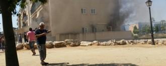 Sis persones intoxicades en un incendi en un bloc de pisos al Vendrell