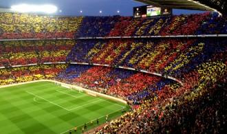 L'afició fa tremolar el Camp Nou per la final de la Copa del Rei