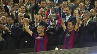 Messi defensa el seu regne i el Barça aixeca la Copa