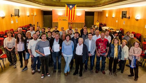 ERC mostra el «compromís» amb el procés, la comarca i la justícia social