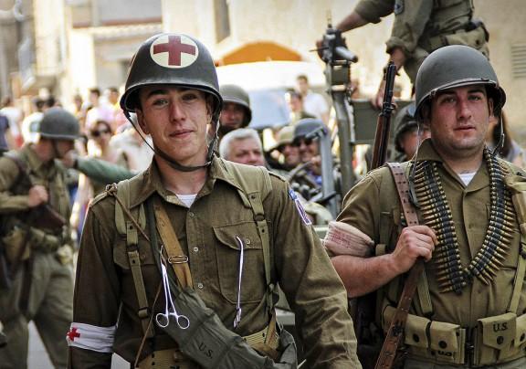 Recreació de la II Guerra Mundial