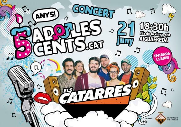 Regalem un concert d'Els Catarres a tots els seguidors d'Adolescents.cat