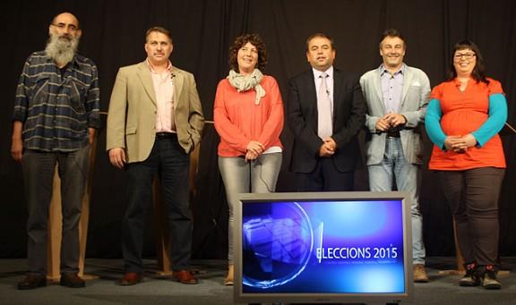 Un debat a cinc marca la recta final de la campanya a Ripoll