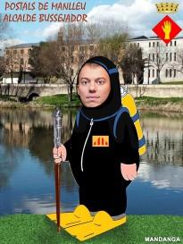 L'alcalde bussejador de Manlleu