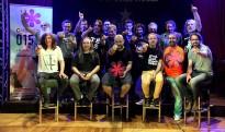 La Banda Impossible assaja a Salt el concert del Canet Rock