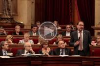 Ramon Espadaler s'acomiada del Parlament de Catalunya